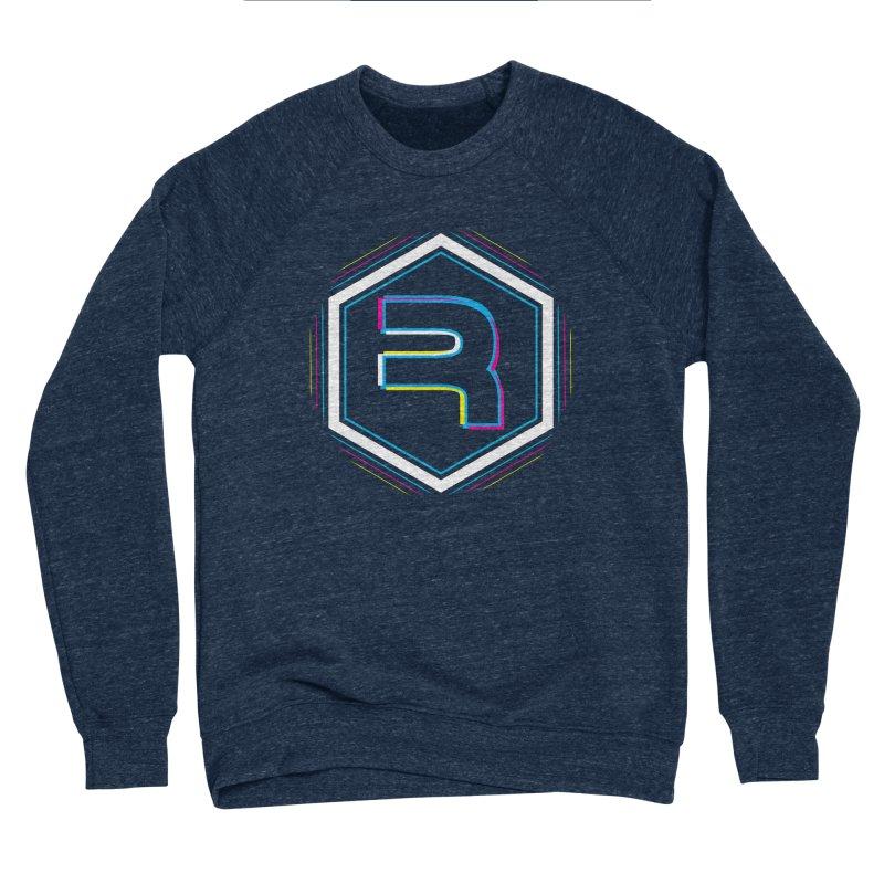 Rev Vibes Men's Sponge Fleece Sweatshirt by RevolutionTradingCo