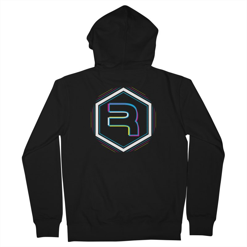 Rev Vibes Men's French Terry Zip-Up Hoody by RevolutionTradingCo
