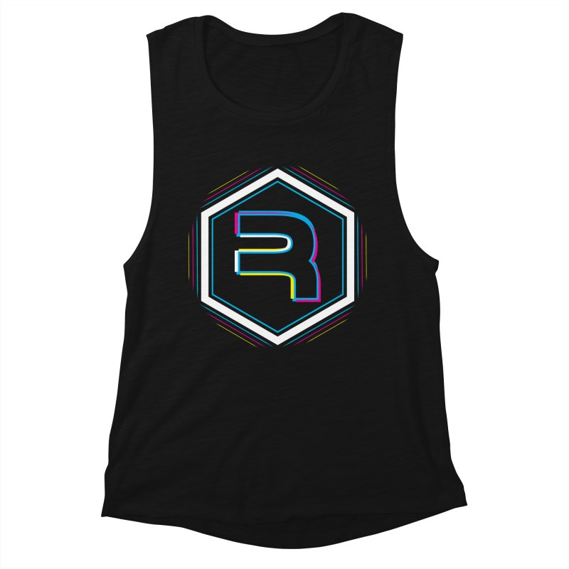 Rev Vibes Women's Muscle Tank by RevolutionTradingCo