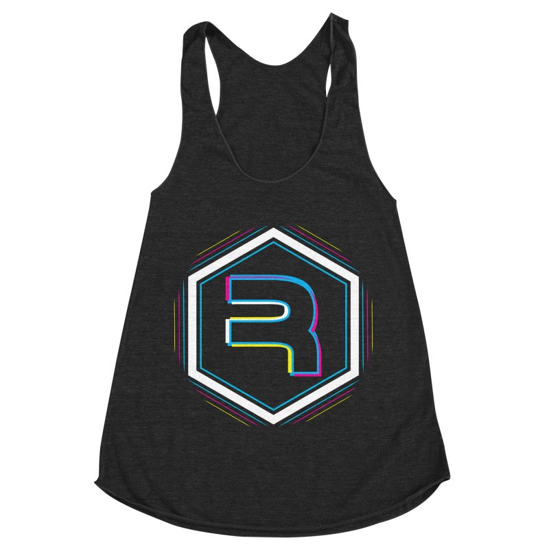 Rev Vibes Women's Racerback Triblend Tank by RevolutionTradingCo