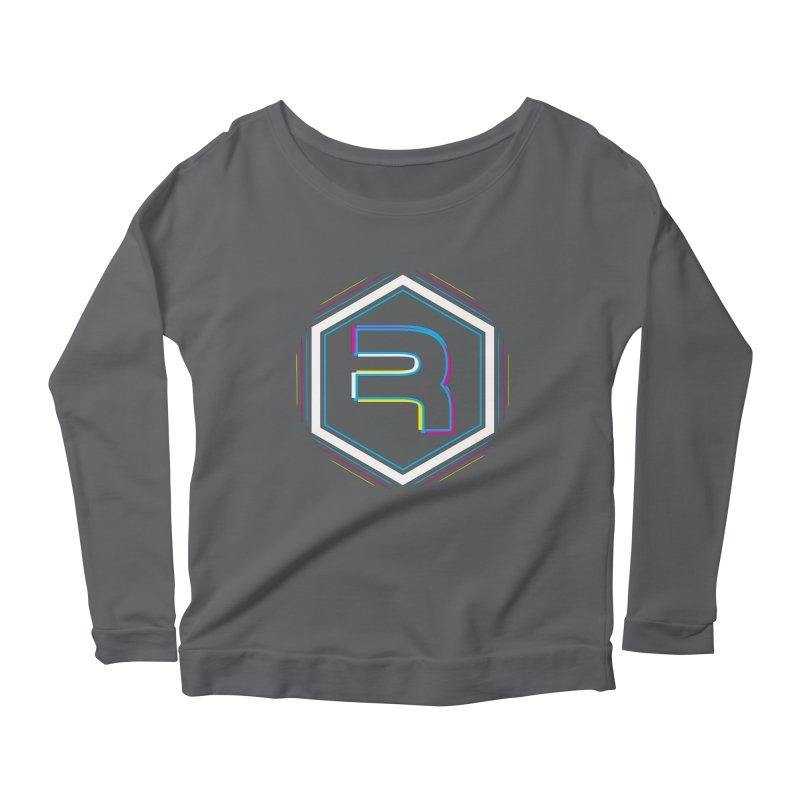 Rev Vibes Women's Scoop Neck Longsleeve T-Shirt by RevolutionTradingCo