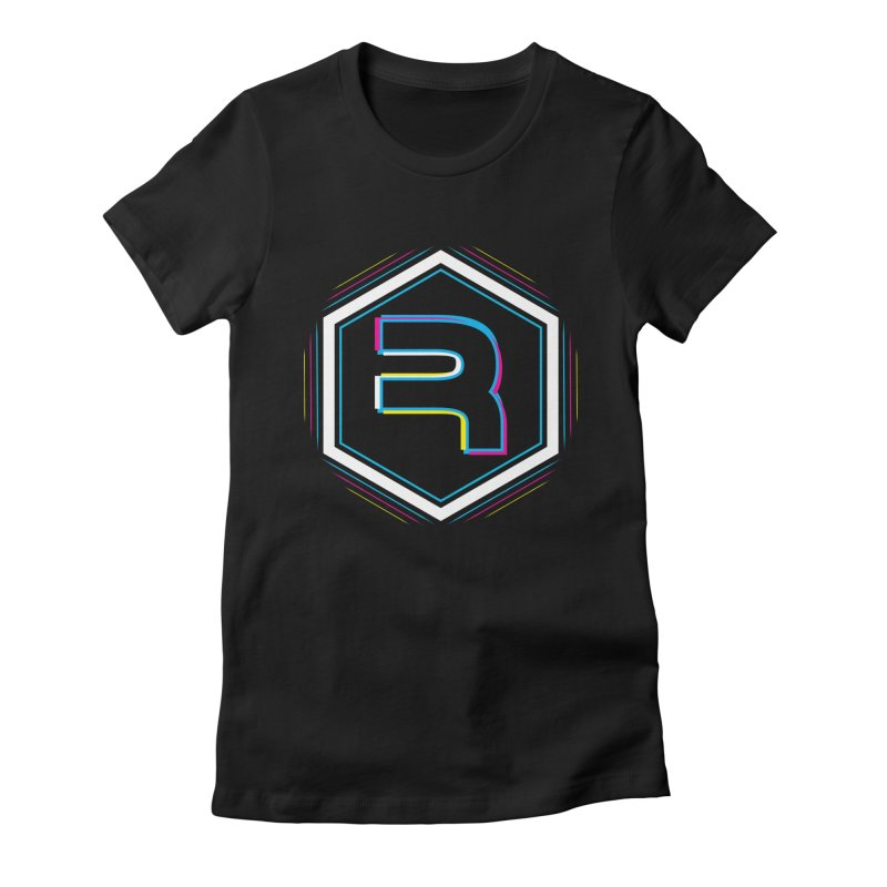 Rev Vibes in Women's Fitted T-Shirt Black by RevolutionTradingCo