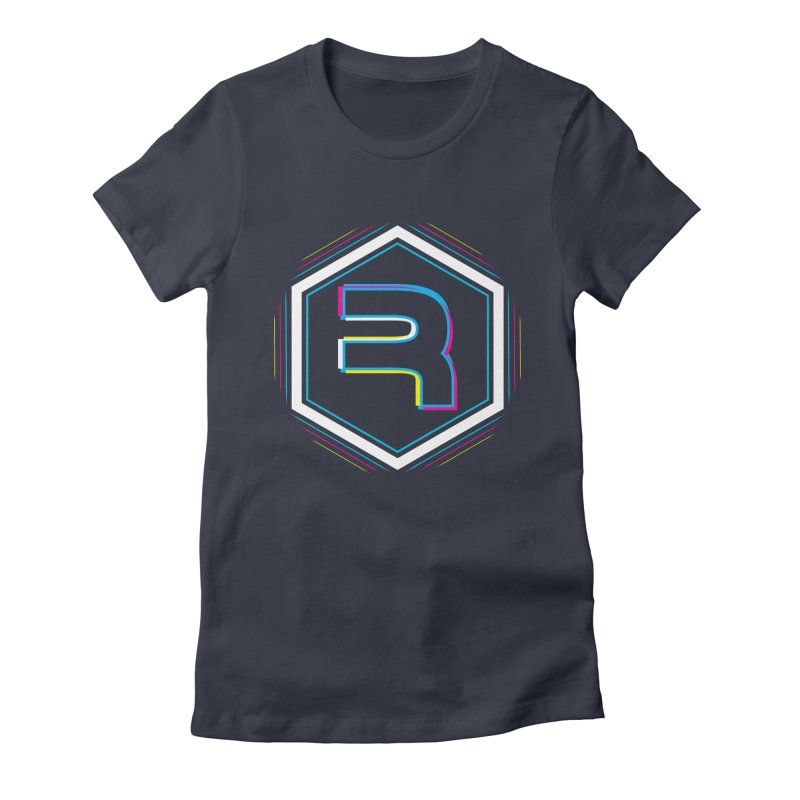 Rev Vibes in Women's Fitted T-Shirt Midnight by RevolutionTradingCo