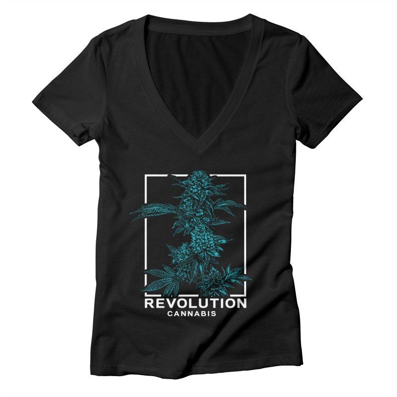 Revolution Cola Women's V-Neck by RevolutionTradingCo