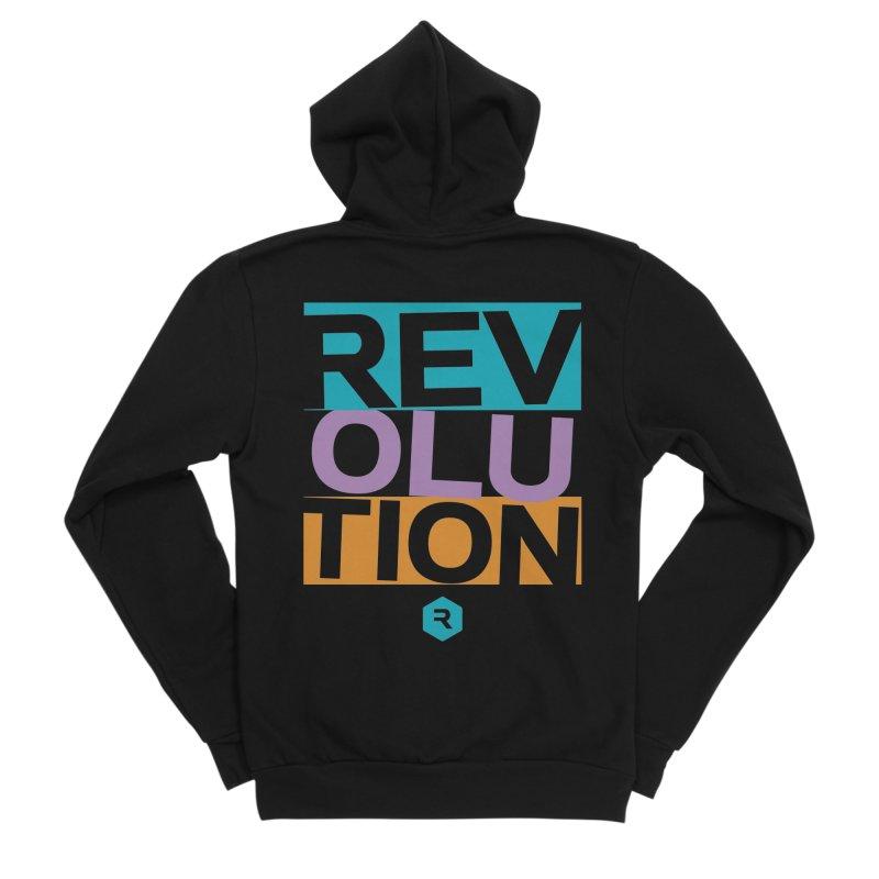 STACKED Men's Zip-Up Hoody by RevolutionTradingCo