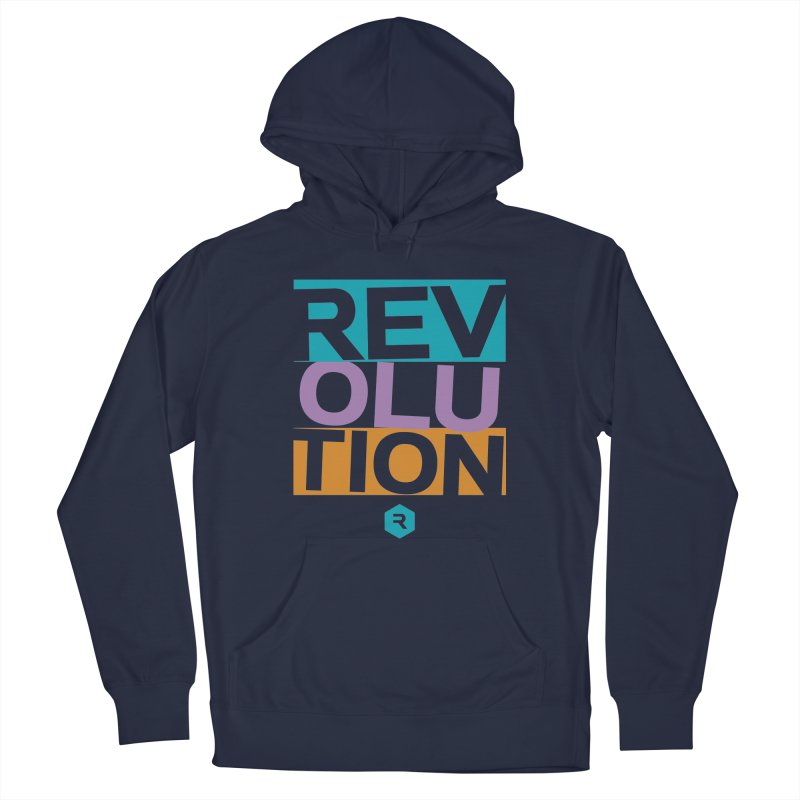 STACKED Men's Pullover Hoody by RevolutionTradingCo