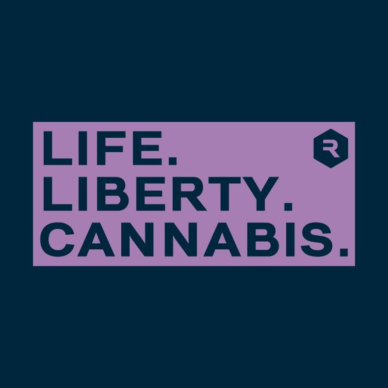 Life. Liberty. Cannabis. Men's T-Shirt by RevolutionTradingCo