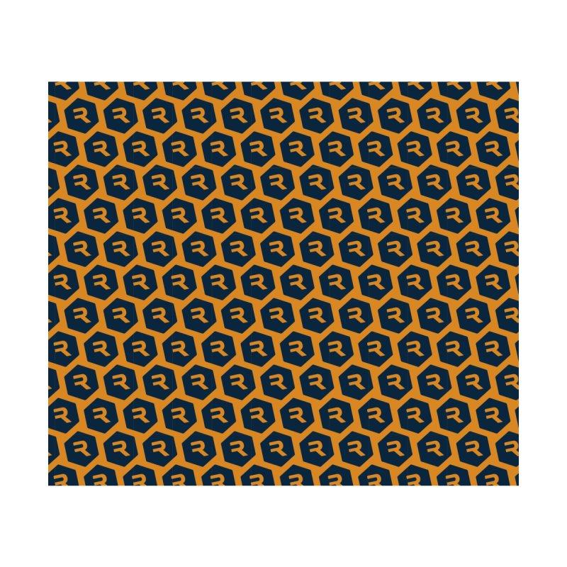 RevHex Gaiter Orange Accessories Neck Gaiter by RevolutionTradingCo