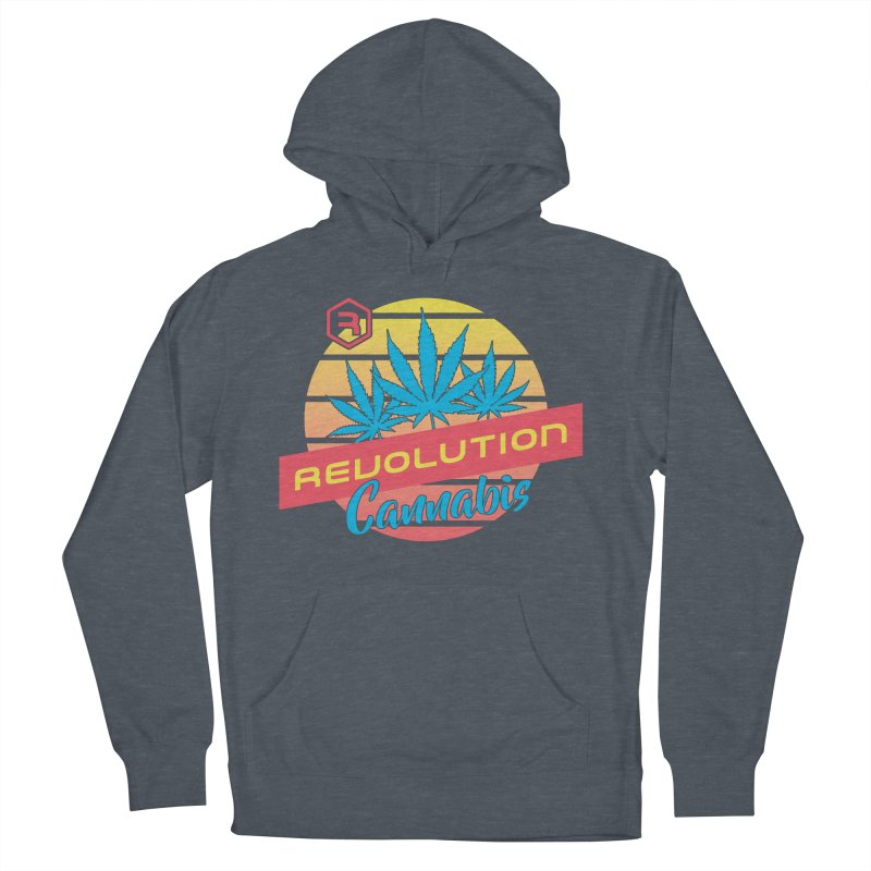 Revolution Sunset Men's French Terry Pullover Hoody by RevolutionTradingCo