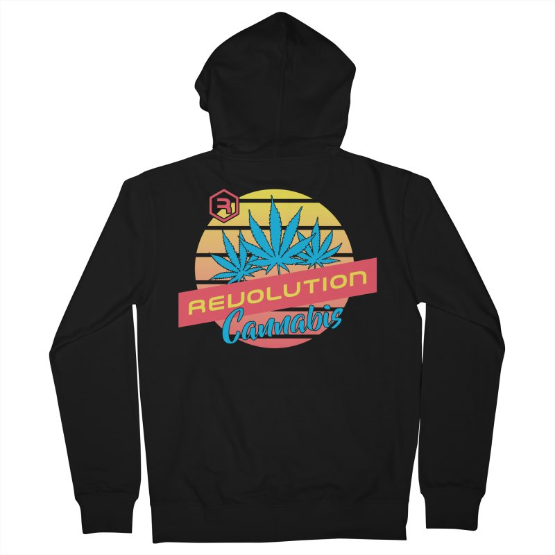 Revolution Sunset Women's French Terry Zip-Up Hoody by RevolutionTradingCo