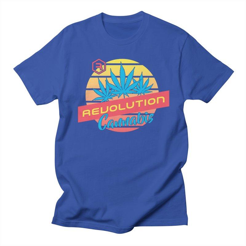 Revolution Sunset Men's Regular T-Shirt by RevolutionTradingCo
