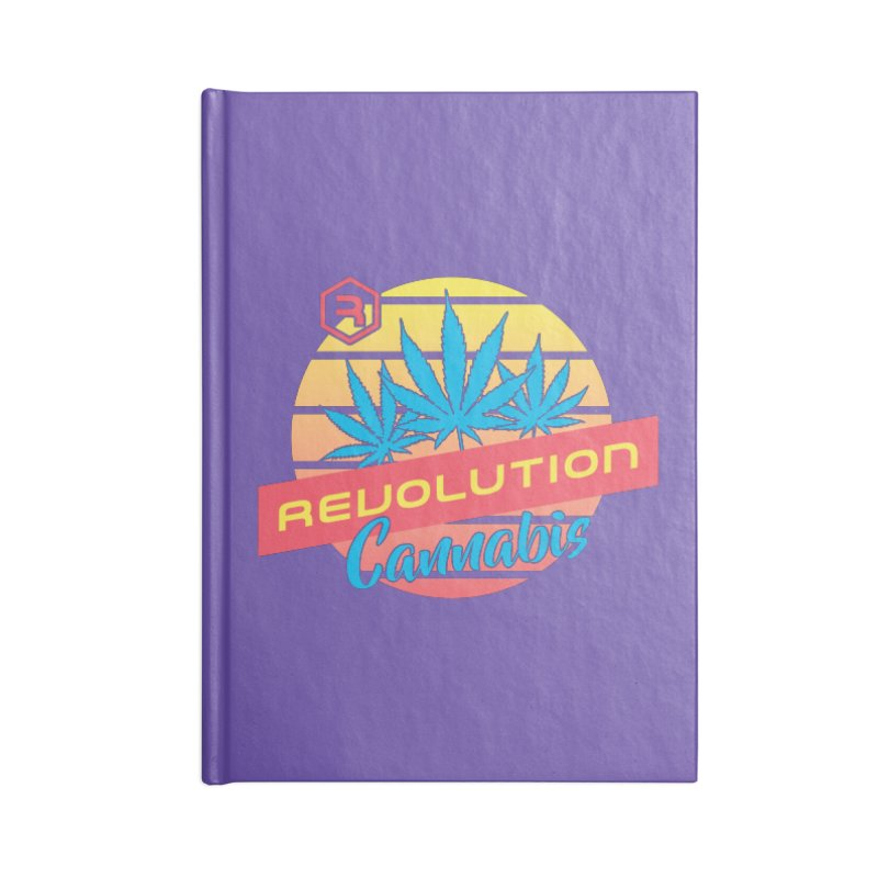 Revolution Sunset Accessories Blank Journal Notebook by RevolutionTradingCo