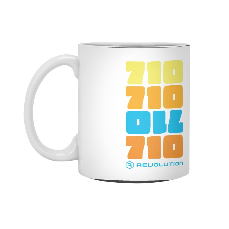 710 710 OIL 710 Accessories Standard Mug by RevolutionTradingCo