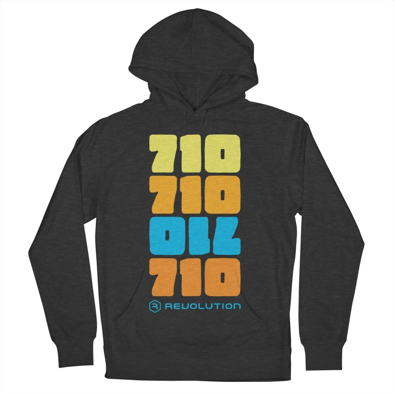 710 710 OIL 710 Women's French Terry Pullover Hoody by RevolutionTradingCo