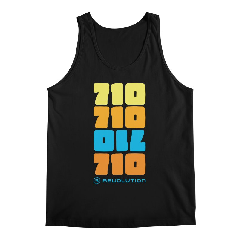 710 710 OIL 710 Men's Regular Tank by RevolutionTradingCo