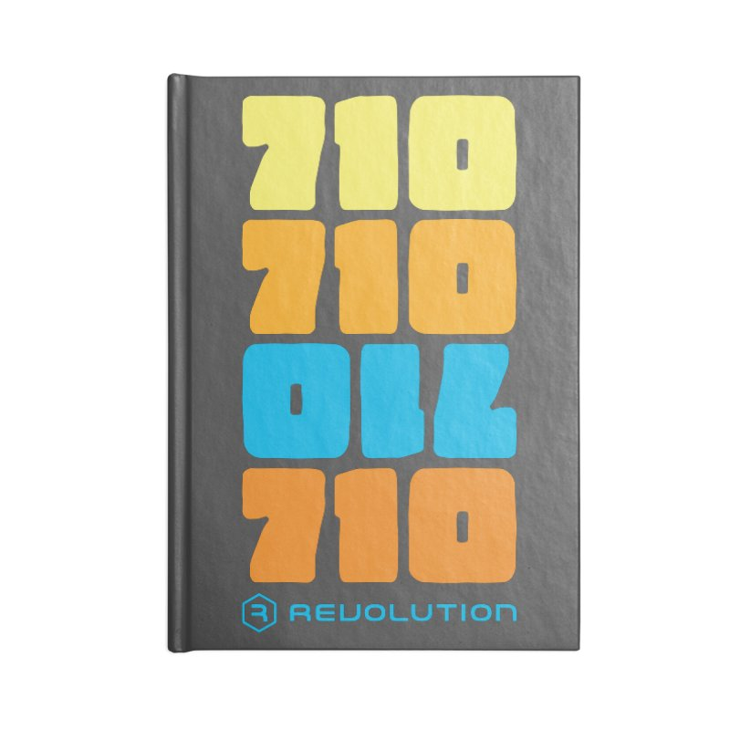 710 710 OIL 710 Accessories Blank Journal Notebook by RevolutionTradingCo