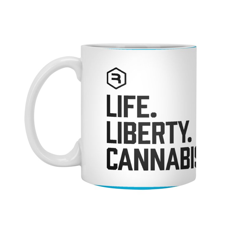 Life. Liberty. Cannabis. Accessories Standard Mug by RevolutionTradingCo