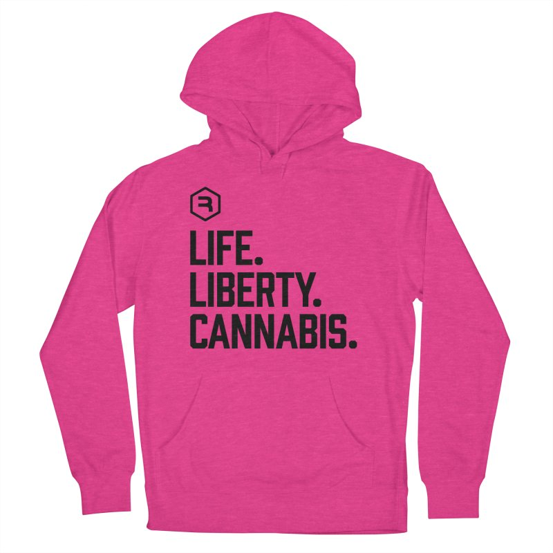 Life. Liberty. Cannabis. Women's French Terry Pullover Hoody by RevolutionTradingCo
