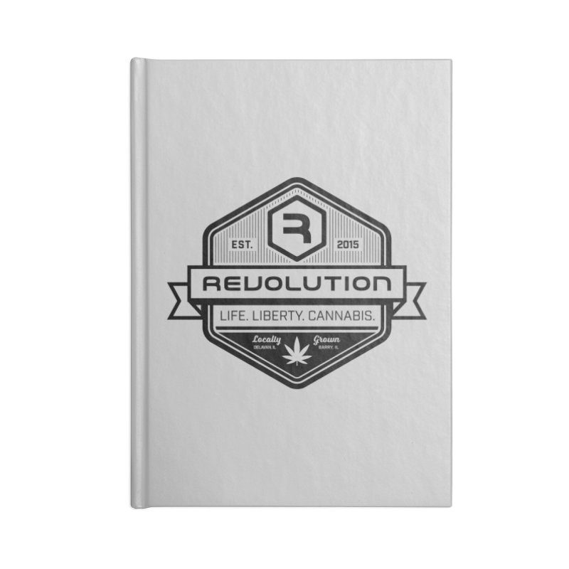Locally Grown in Blank Journal Notebook by RevolutionTradingCo