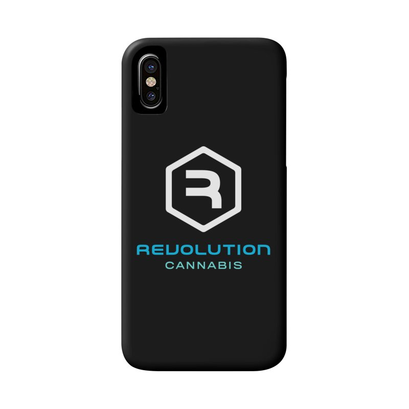 Revolution Cannabis Logo in iPhone X / XS Phone Case Slim by RevolutionTradingCo