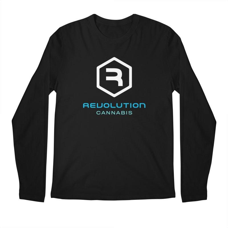 Revolution Cannabis Logo Men's Regular Longsleeve T-Shirt by RevolutionTradingCo
