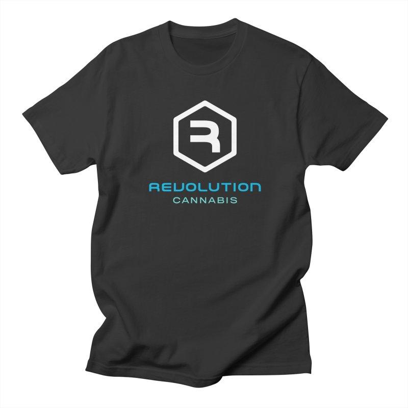 Revolution Cannabis Logo Men's Regular T-Shirt by RevolutionTradingCo