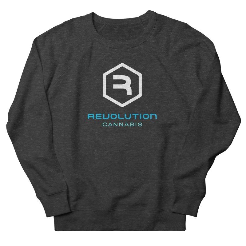 Revolution Cannabis Logo Women's French Terry Sweatshirt by RevolutionTradingCo