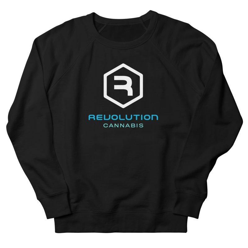 Revolution Cannabis Logo Men's French Terry Sweatshirt by RevolutionTradingCo