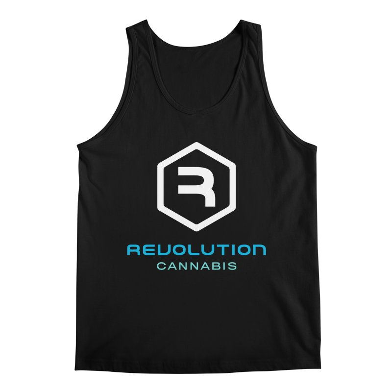 Revolution Cannabis Logo Men's Regular Tank by RevolutionTradingCo