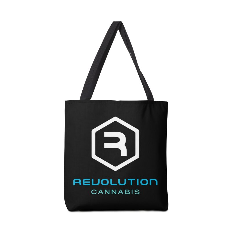 Revolution Cannabis Logo in Tote Bag by RevolutionTradingCo