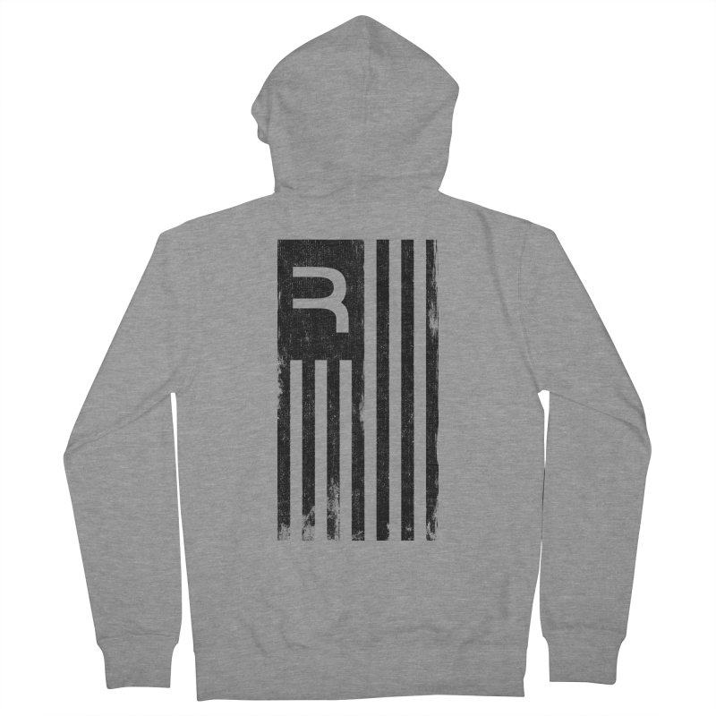 American Cannabis Revolution Men's French Terry Zip-Up Hoody by RevolutionTradingCo