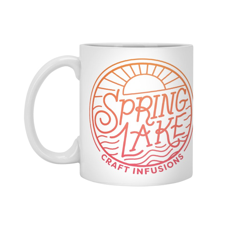Spring Lake Craft Infusions in Standard Mug White by RevolutionTradingCo