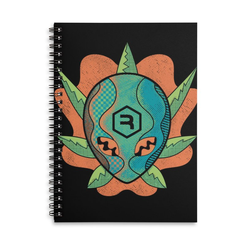 Alien Genetics Accessories Lined Spiral Notebook by RevolutionTradingCo