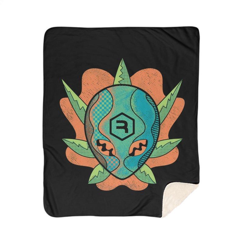 Alien Genetics Home Sherpa Blanket Blanket by RevolutionTradingCo
