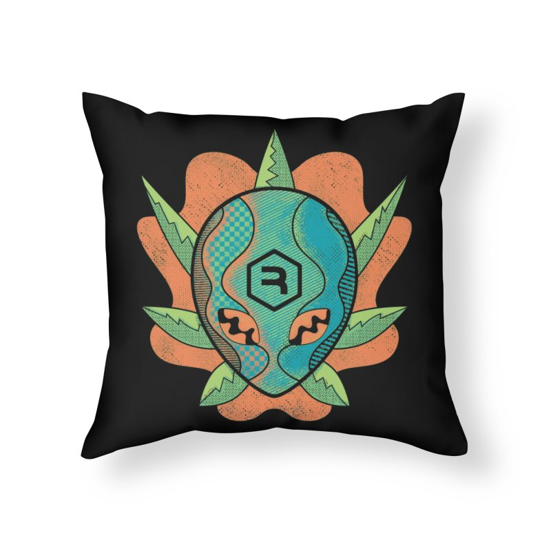 Alien Genetics Home Throw Pillow by RevolutionTradingCo