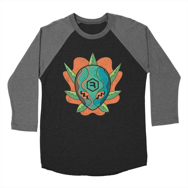 Alien Genetics in Women's Baseball Triblend Longsleeve T-Shirt Grey Triblend Sleeves by RevolutionTradingCo