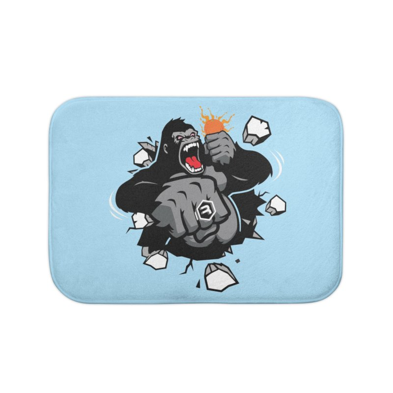 Gorilla Punch Home Bath Mat by RevolutionTradingCo