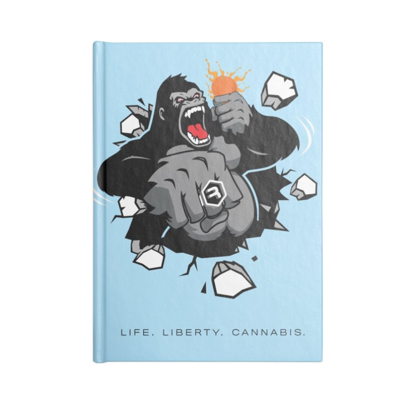 Gorilla Punch Accessories Lined Journal Notebook by RevolutionTradingCo