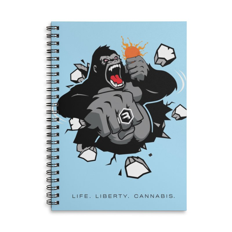 Gorilla Punch Accessories Lined Spiral Notebook by RevolutionTradingCo