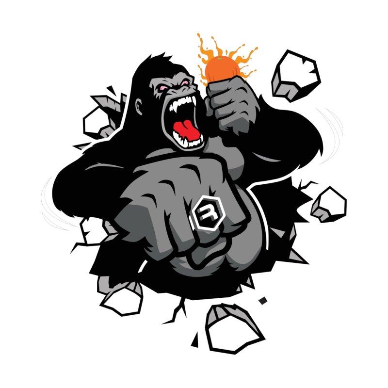 Gorilla Punch Home Bath Mat by RevolutionTradingCo