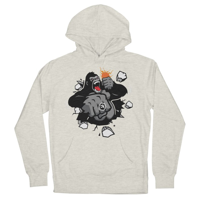 Gorilla Punch Men's French Terry Pullover Hoody by RevolutionTradingCo