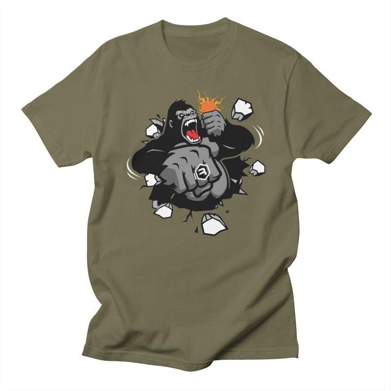 Gorilla Punch Women's Regular Unisex T-Shirt by RevolutionTradingCo