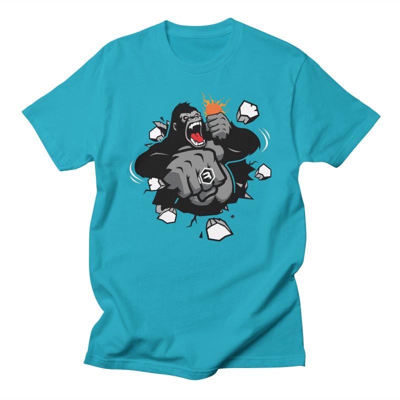 Gorilla Punch Men's Regular T-Shirt by RevolutionTradingCo