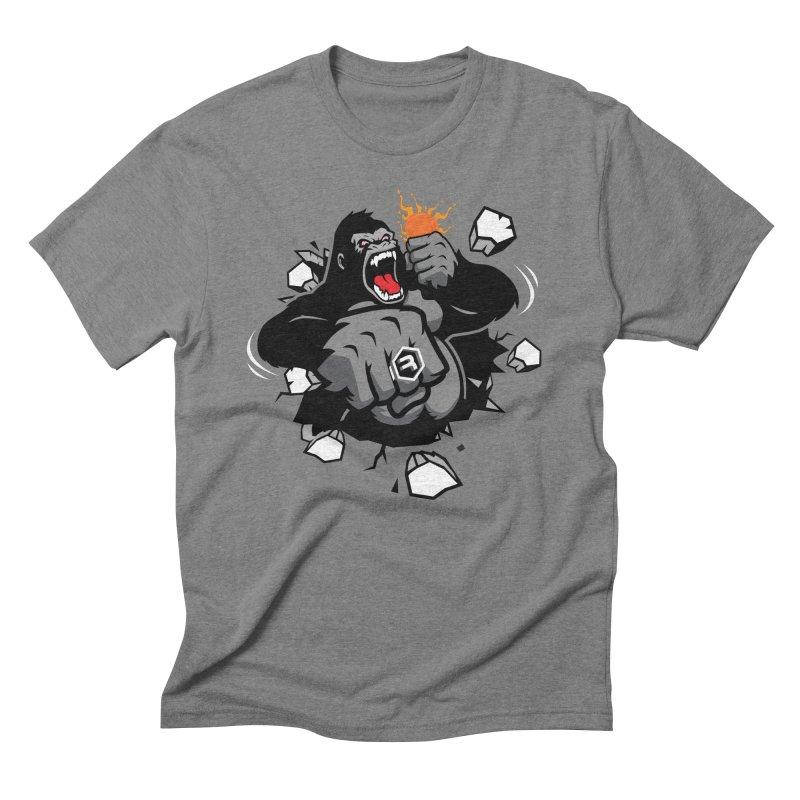 Gorilla Punch Men's Triblend T-Shirt by RevolutionTradingCo