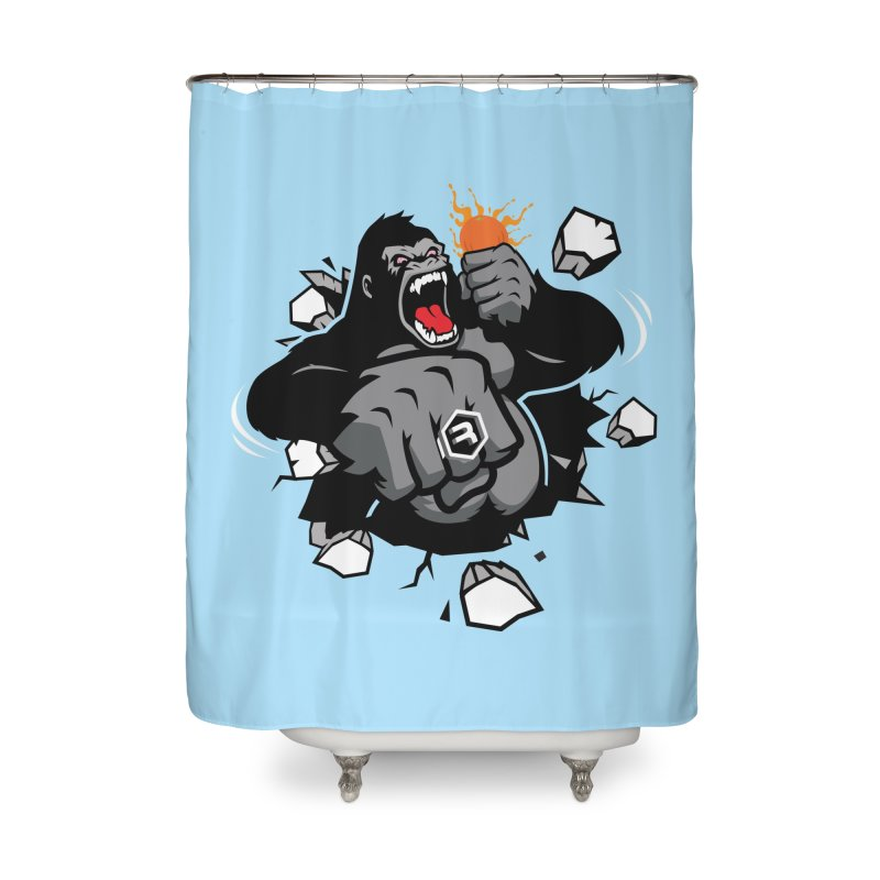 Gorilla Punch Home Shower Curtain by RevolutionTradingCo