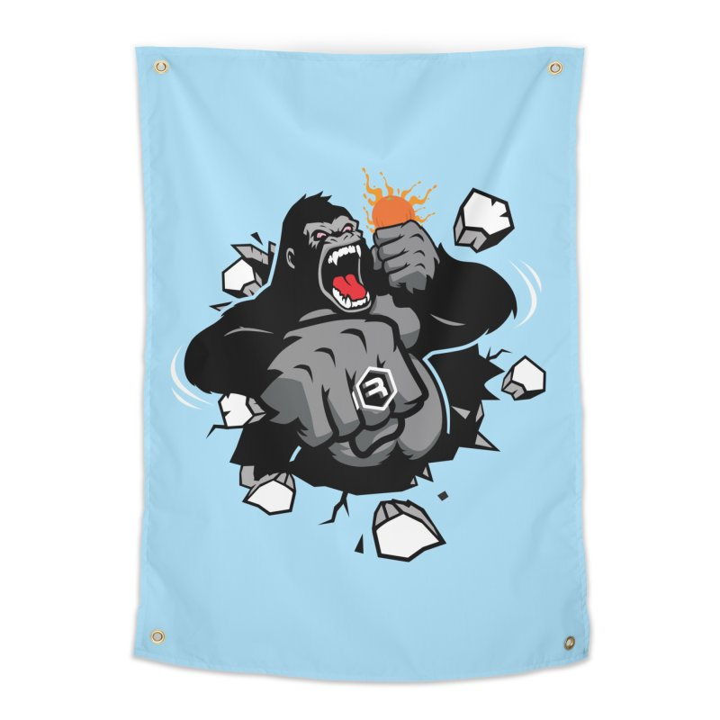 Gorilla Punch Home Tapestry by RevolutionTradingCo