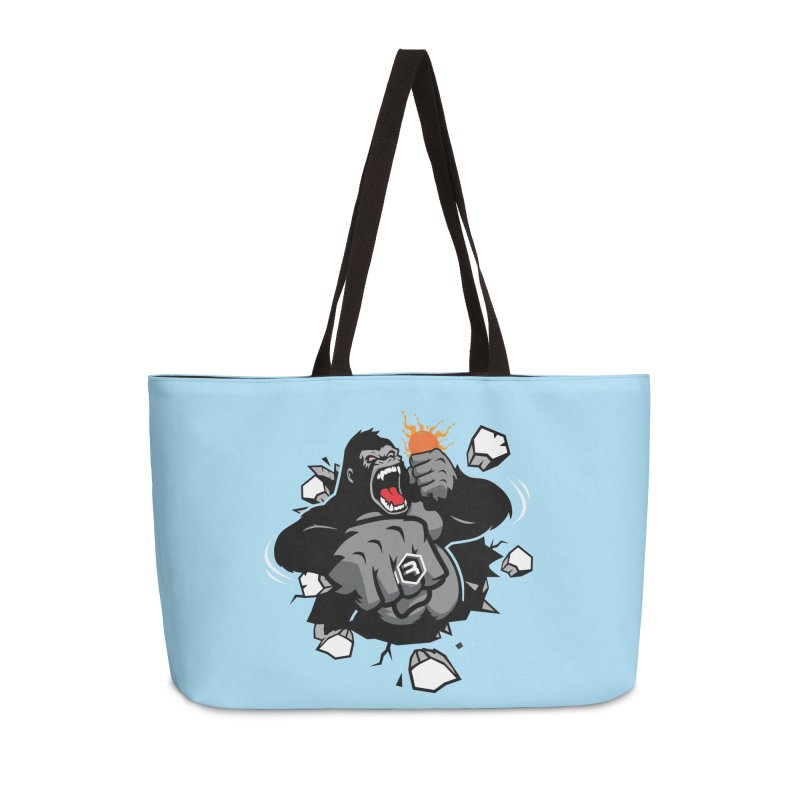 Gorilla Punch Accessories Weekender Bag Bag by RevolutionTradingCo