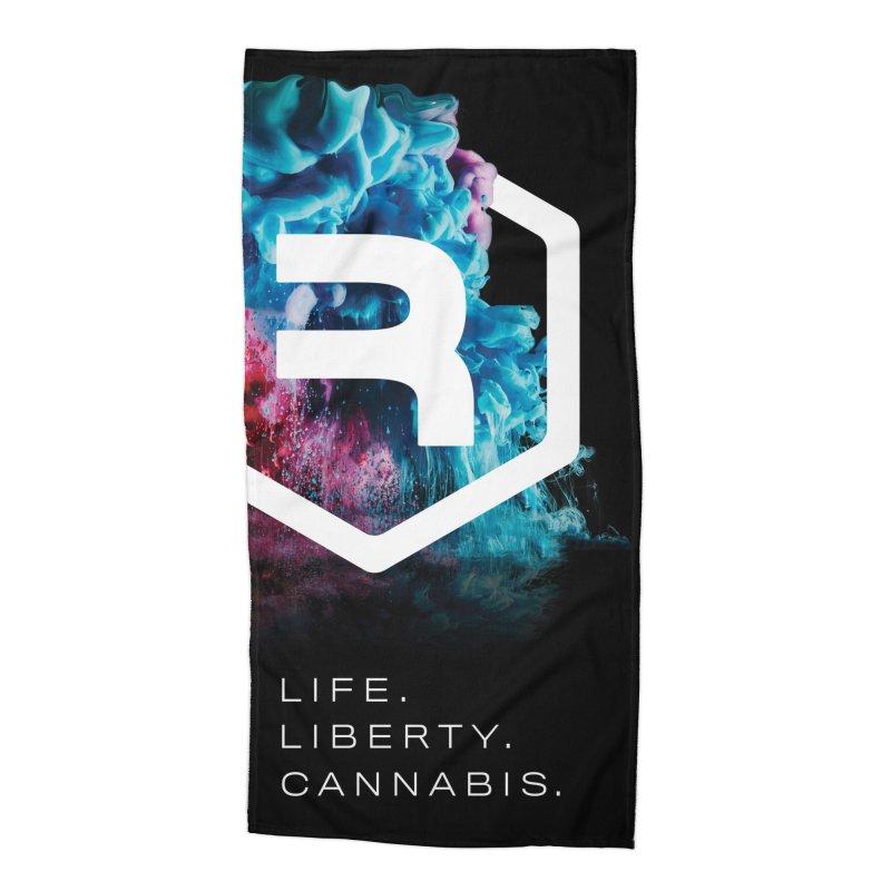 RevSmoke Accessories Beach Towel by RevolutionTradingCo