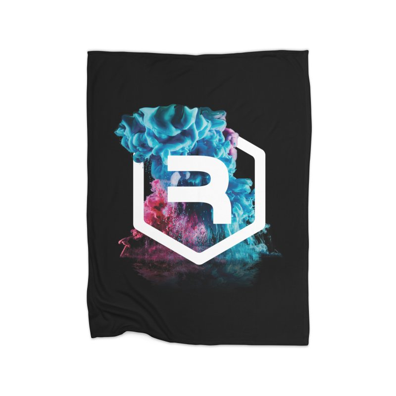 RevSmoke in Fleece Blanket Blanket by RevolutionTradingCo