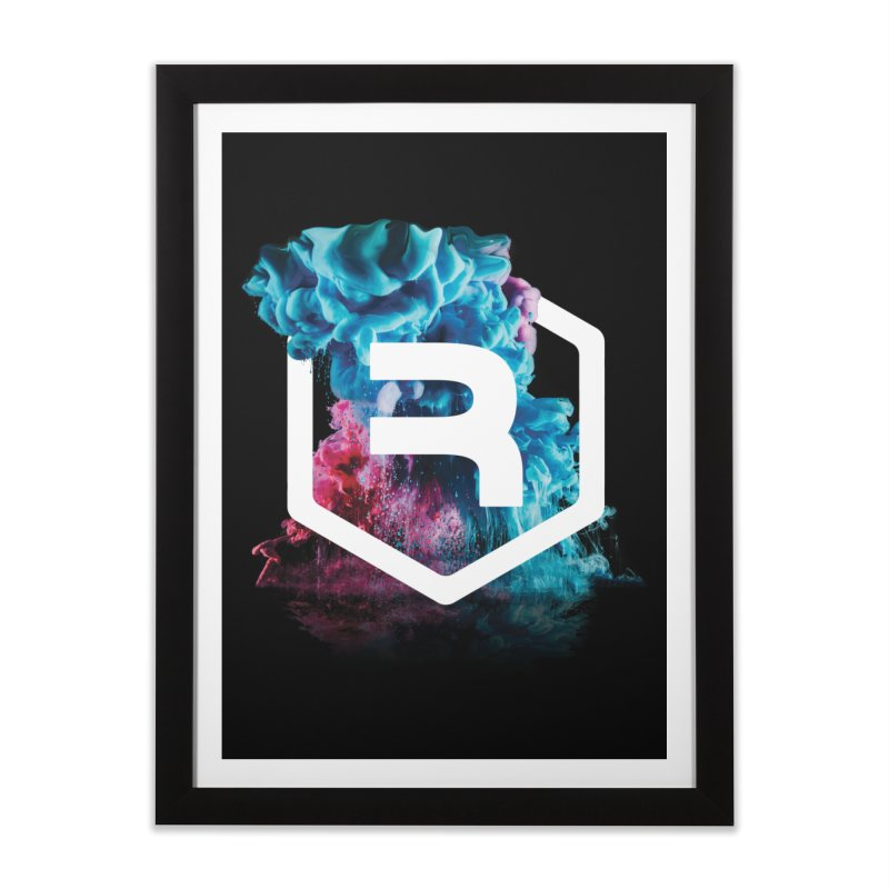 RevSmoke in Framed Fine Art Print Black by RevolutionTradingCo